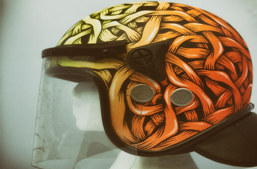 Otto Schade | Peace Helmets Project